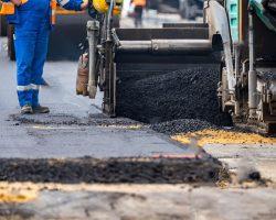 Pose asphalt Projet Afiquia